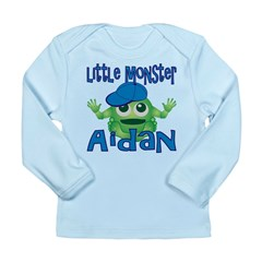 Little Monster Aidan Long Sleeve Infant T-Shirt