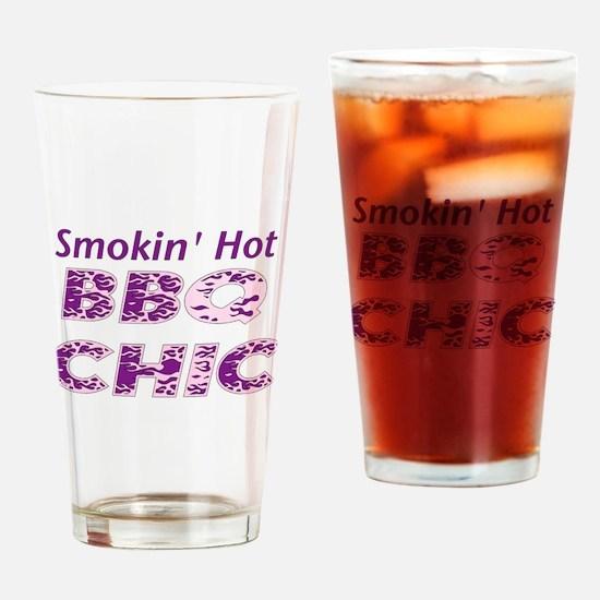 BBQ Chic Drinking Glass
