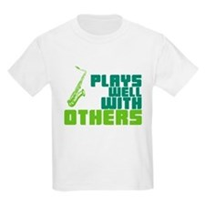 Saxophone (Plays Well With Others) T-Shirt