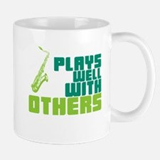Saxophone (Plays Well With Others) Mug