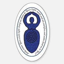 Spiral Goddess Weaver Decal
