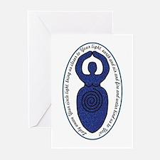 Spiral Goddess Weaver Greeting Cards (Pk of 20)