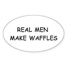 Cute Real men Decal