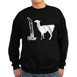 Dolly Llama Sweatshirt (dark)