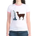 Dolly Llama Jr. Ringer T-Shirt