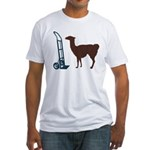 Dolly Llama Fitted T-Shirt