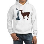 Dolly Llama Hooded Sweatshirt