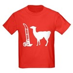 Dolly Llama Kids Dark T-Shirt