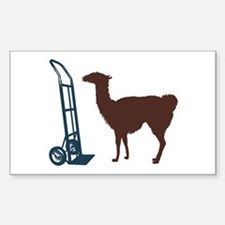 Dolly Llama Decal