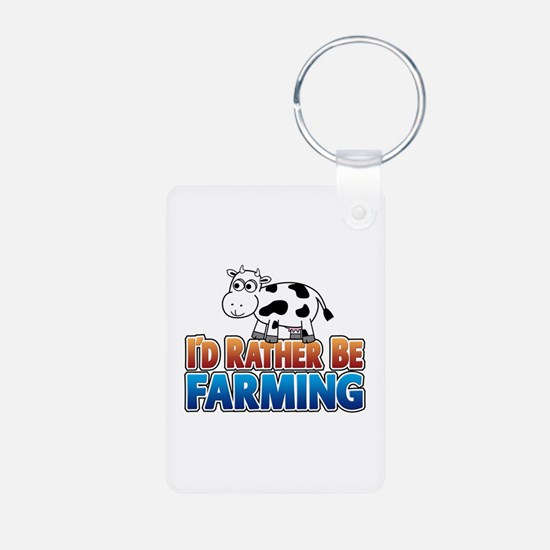 Farmville Inspired Cow Keychains