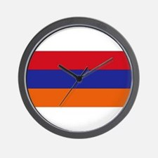 Armenian Flag Wall Clock