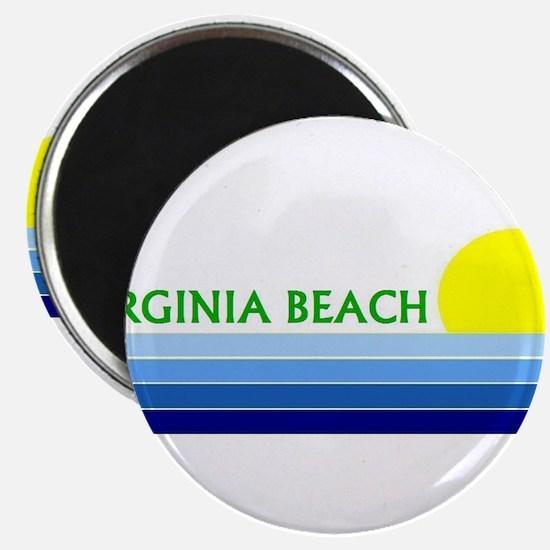 """Cute Virginia beach 2.25"""" Magnet (10 pack)"""