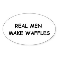 Cute Real men Decal