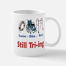 Still Tri-ing Mug
