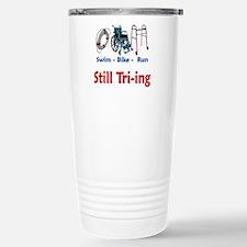 Still Tri-ing Travel Mug