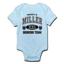 Miller German Drinking Team Infant Bodysuit