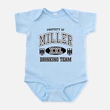 Miller German Drinking Team Infant Bodysuit