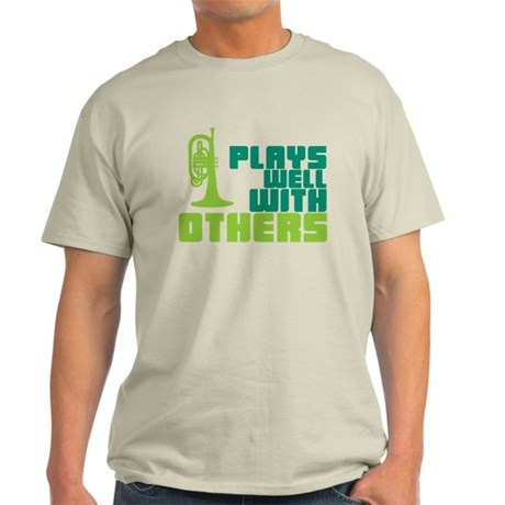 Mellophone (Plays Well With Others) Light T-Shirt