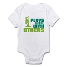 Mellophone (Plays Well With Others) Infant Bodysui