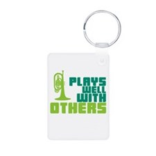 Mellophone (Plays Well With Others) Keychains