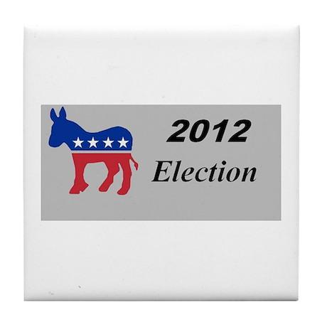 2012 election merchandise Tile Coaster