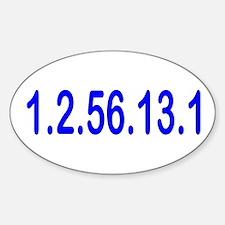 1.2.56.13.1 Sticker (Oval)