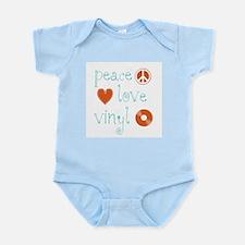 Peace, Love and Vinyl Infant Bodysuit