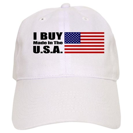 I Buy Made in the USA - Cap