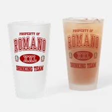 Romano Italian Drinking Team Drinking Glass