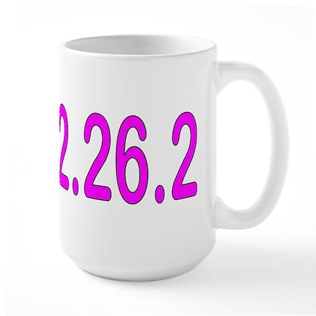 2.4.112.56.2 Blue and Pink Large Mug
