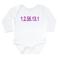 1.2.56.13.1 Long Sleeve Infant Bodysuit