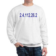 2.4.112.56.2 Blue and Pink Sweatshirt