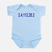 2.4.112.56.2 Blue and Pink Infant Bodysuit