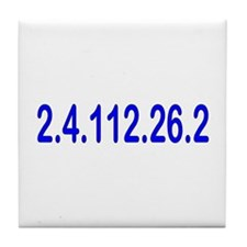 2.4.112.56.2 Blue and Pink Tile Coaster