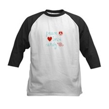 Peace, Love and Candy Tee