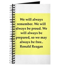 Ronald Reagan quote Journal