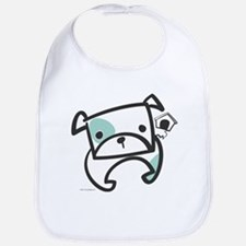 Tough Bulldog Puppy Bib