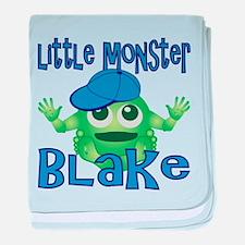 Little Monster Blake baby blanket