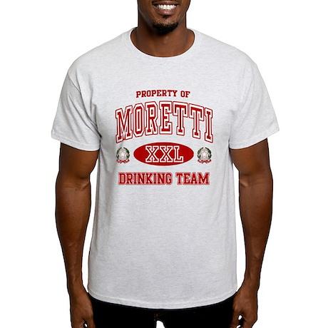 Moretti Italian Drinking Team Light T-Shirt