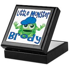 Little Monster Brody Keepsake Box