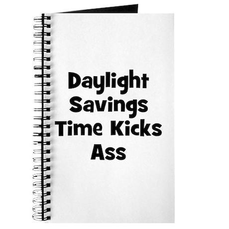 Daylight Savings Time Kicks A Journal