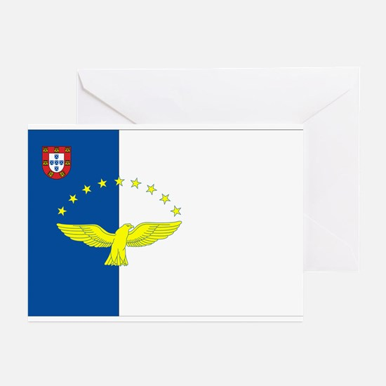 Azores Flag Greeting Cards (Pk of 10)