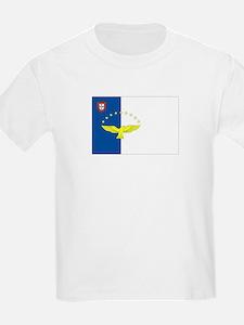 Azores Flag Kids T-Shirt
