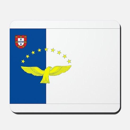 Azores Flag Mousepad