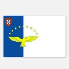 Azores Flag Postcards (Package of 8)