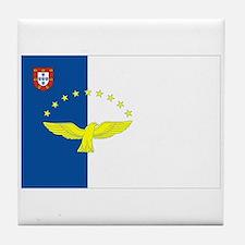 Azores Flag Tile Coaster