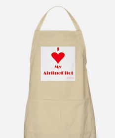 Love My Airline Pilot BBQ Apron