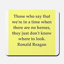 Ronald Reagan quote Mousepad