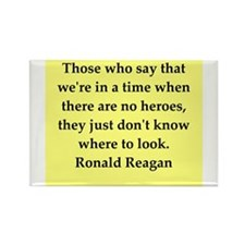 Ronald Reagan quote Rectangle Magnet (10 pack)