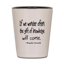 Gift of Knowledge Shot Glass
